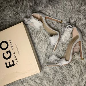 Denim Sandal Heels